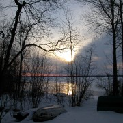 Mission_springs_sunrise_winter_beach_boat