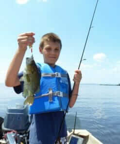 bass caught on lake superior