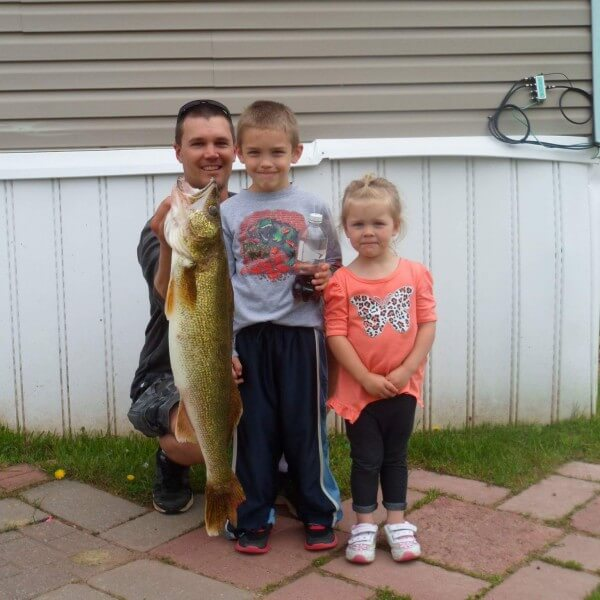 fish caught on lake superior by kids