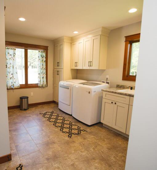Lake House Laundry Room