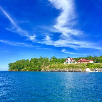 Light House Apostle Islands on Lake Superior