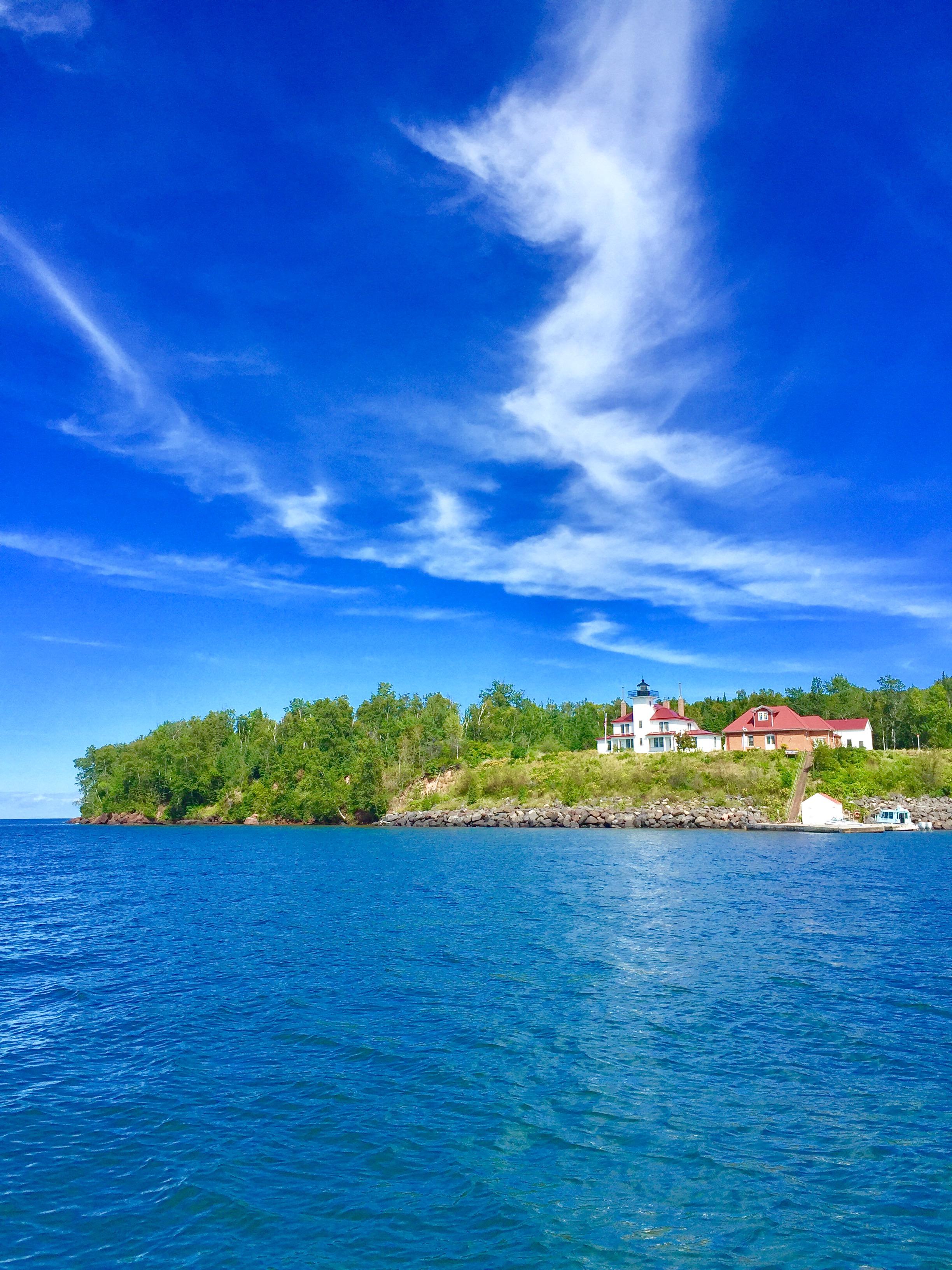 Light House Apostle Islands on Lake Superior