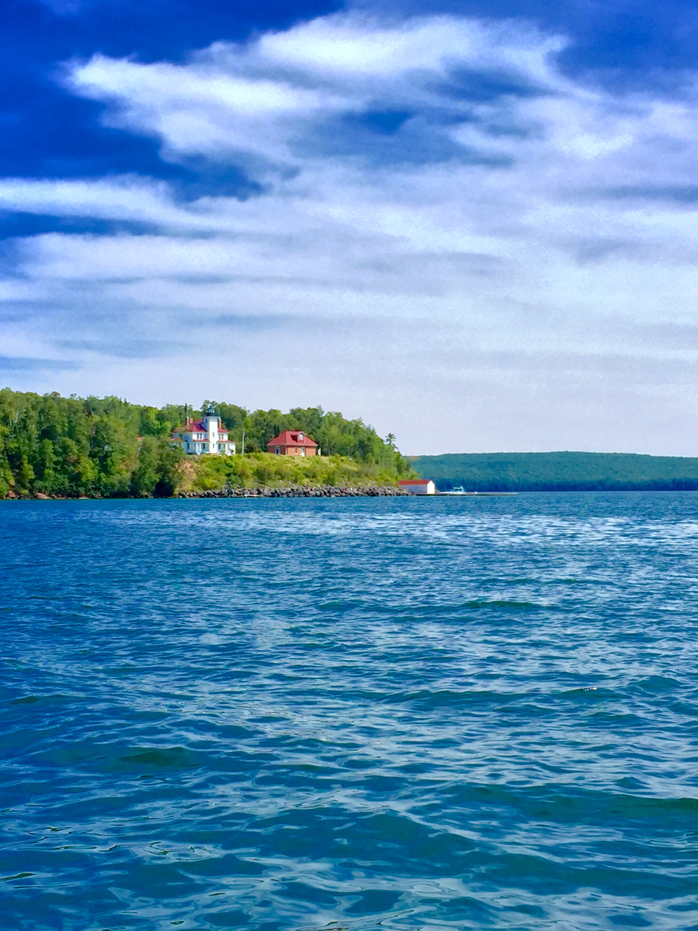 Lighthouse on Apostle Islands