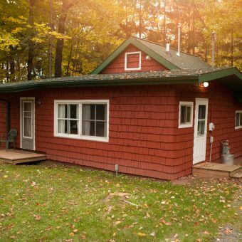 Cottage 2 at Mission Springs Resort in Ashland Wisconsin