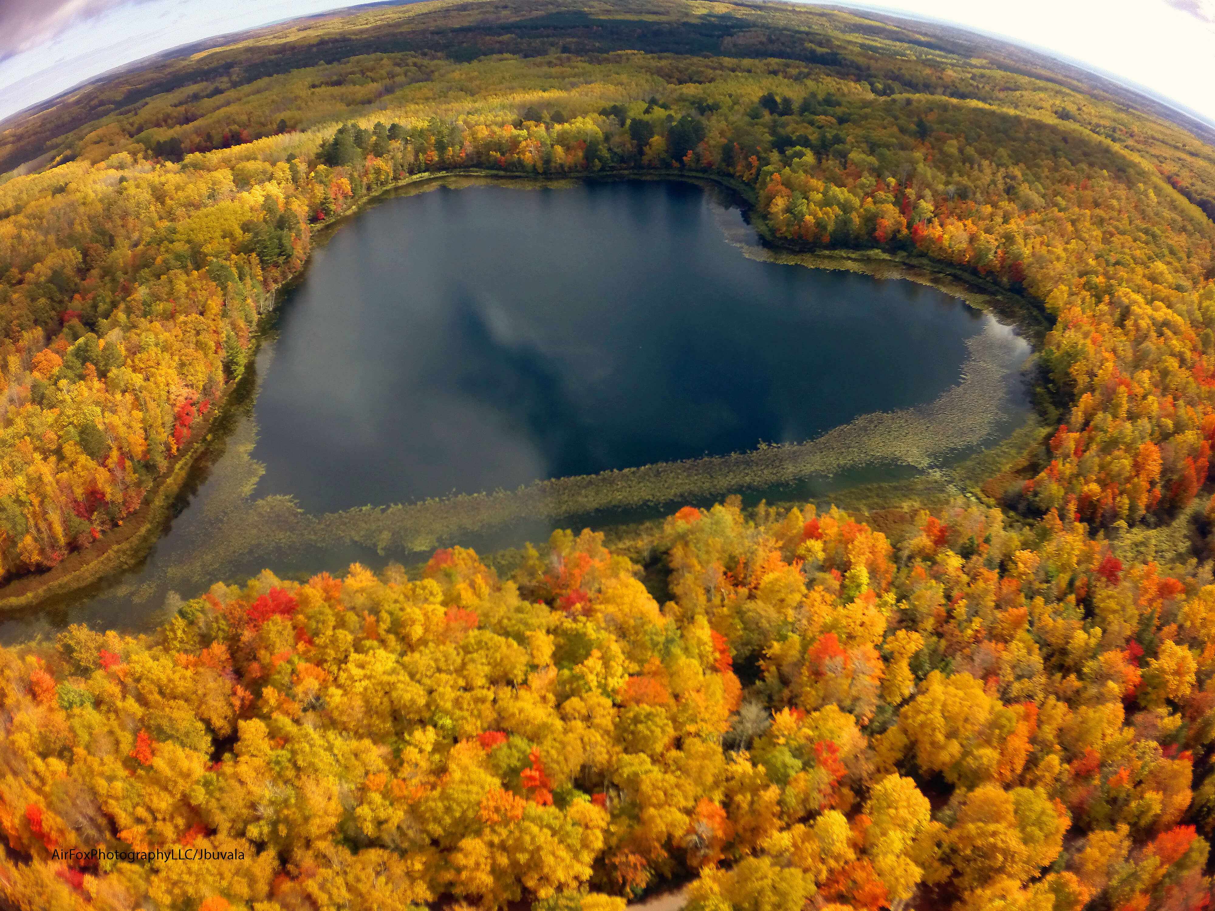 Air Fox Photography Heart Lake