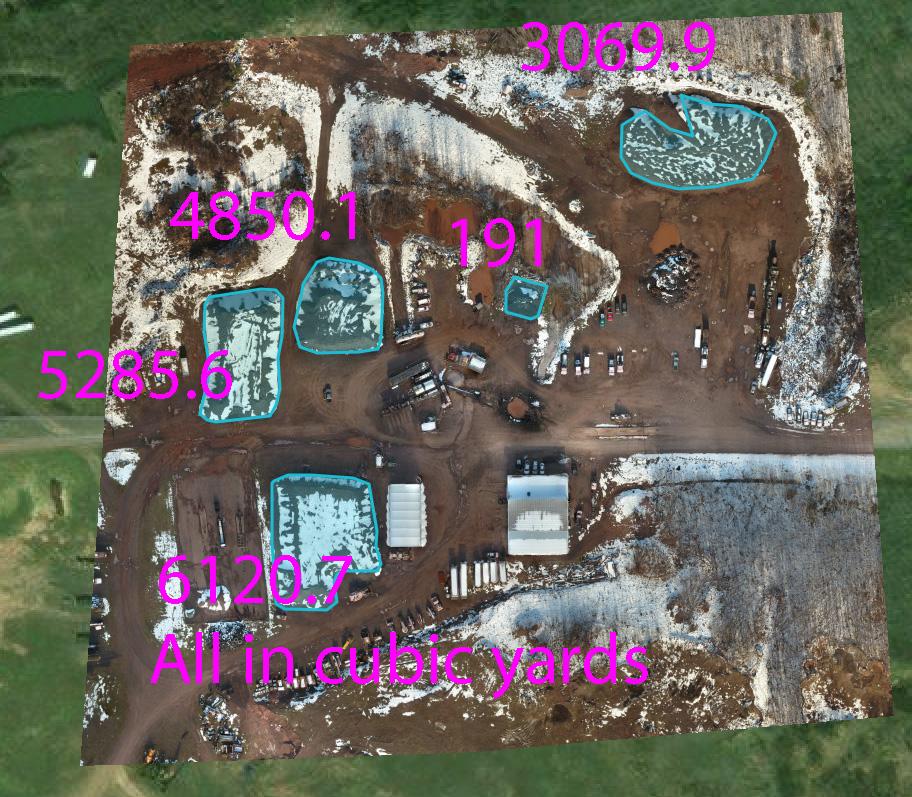 Air Fox plot map