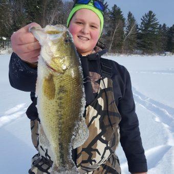 Ice Fishing, Bass