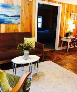 Cottage 9 living room, Mission Springs Resort